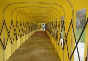 Tunneltent binnenkant